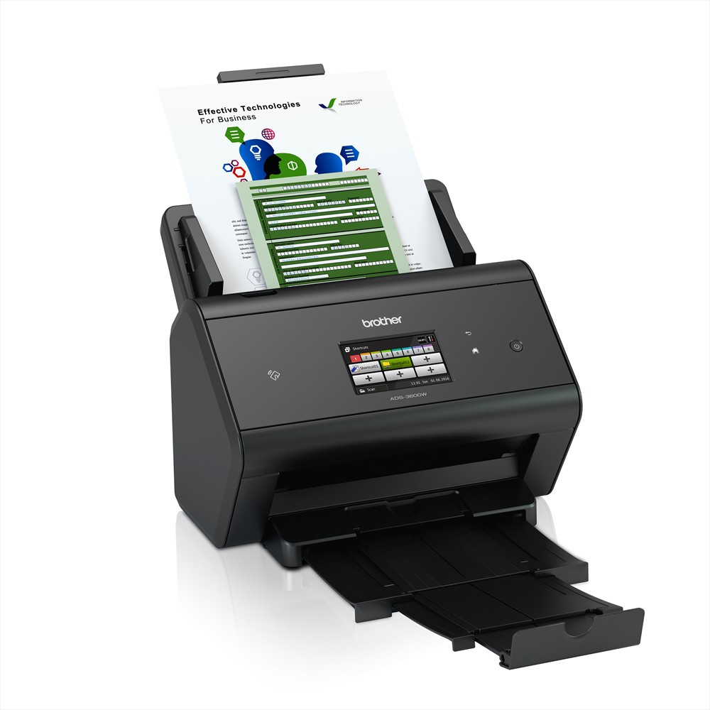 Brother ADS-3600W network scanner (Image 2)