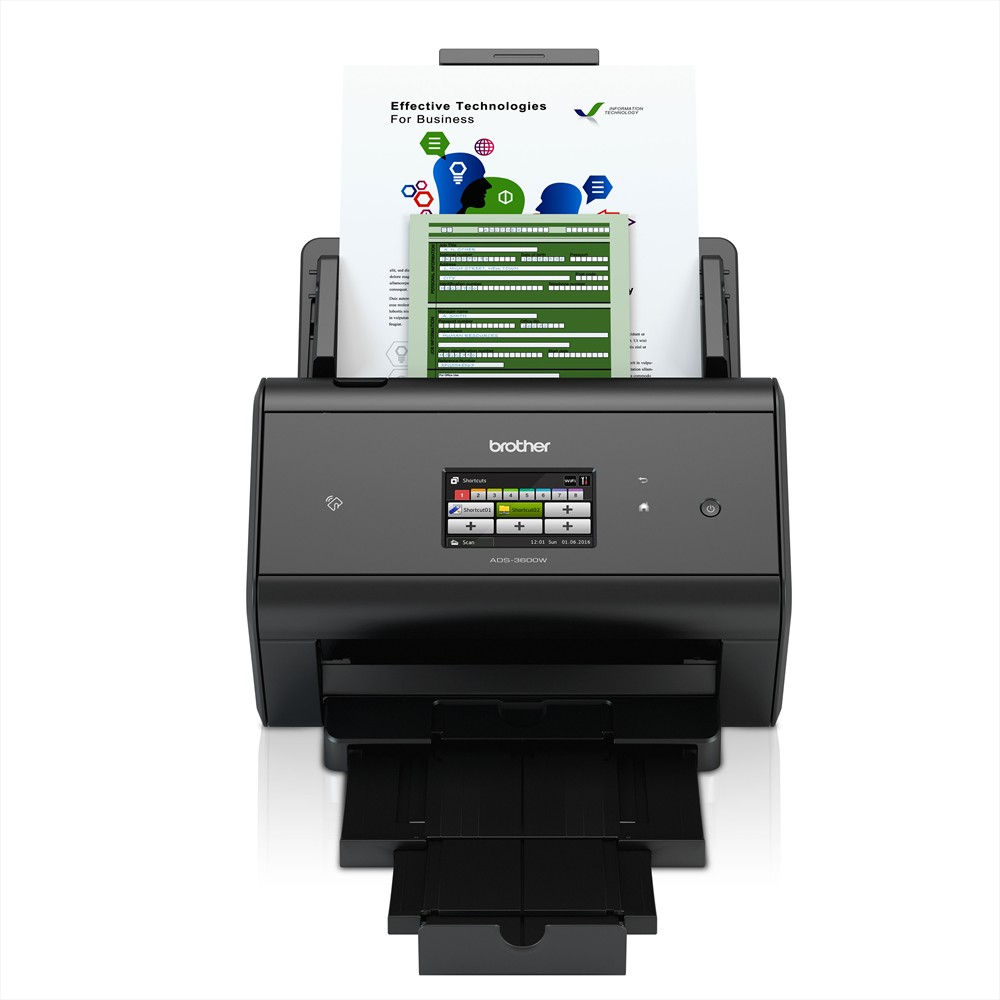 Brother ADS-3600W network scanner (Image 3)