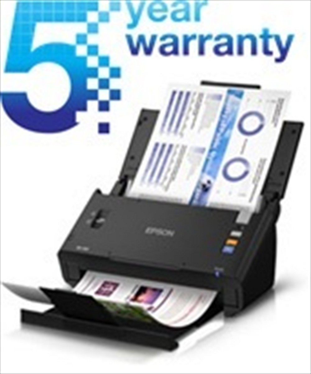 Epson scanner Workforce DS-520 with 5 Year Warranty Extension
