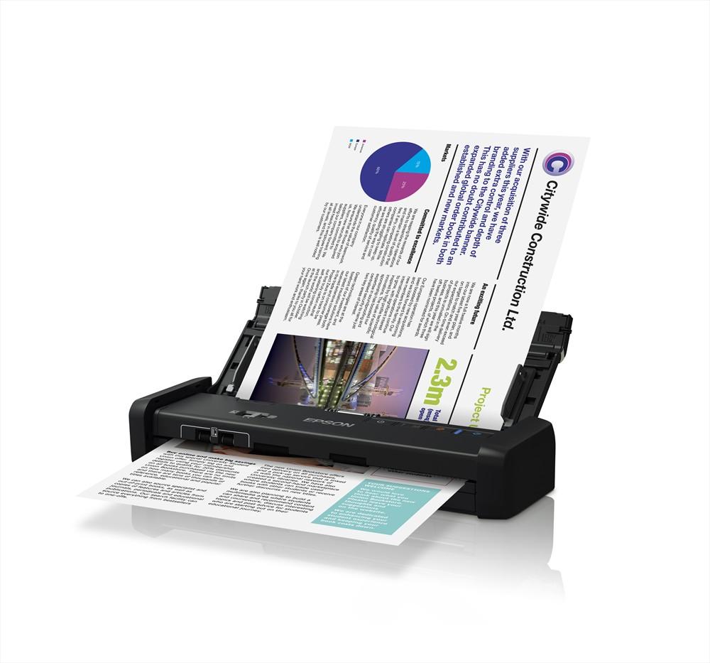 Epson WorkForce DS-310 Mobile Scanner Image 4