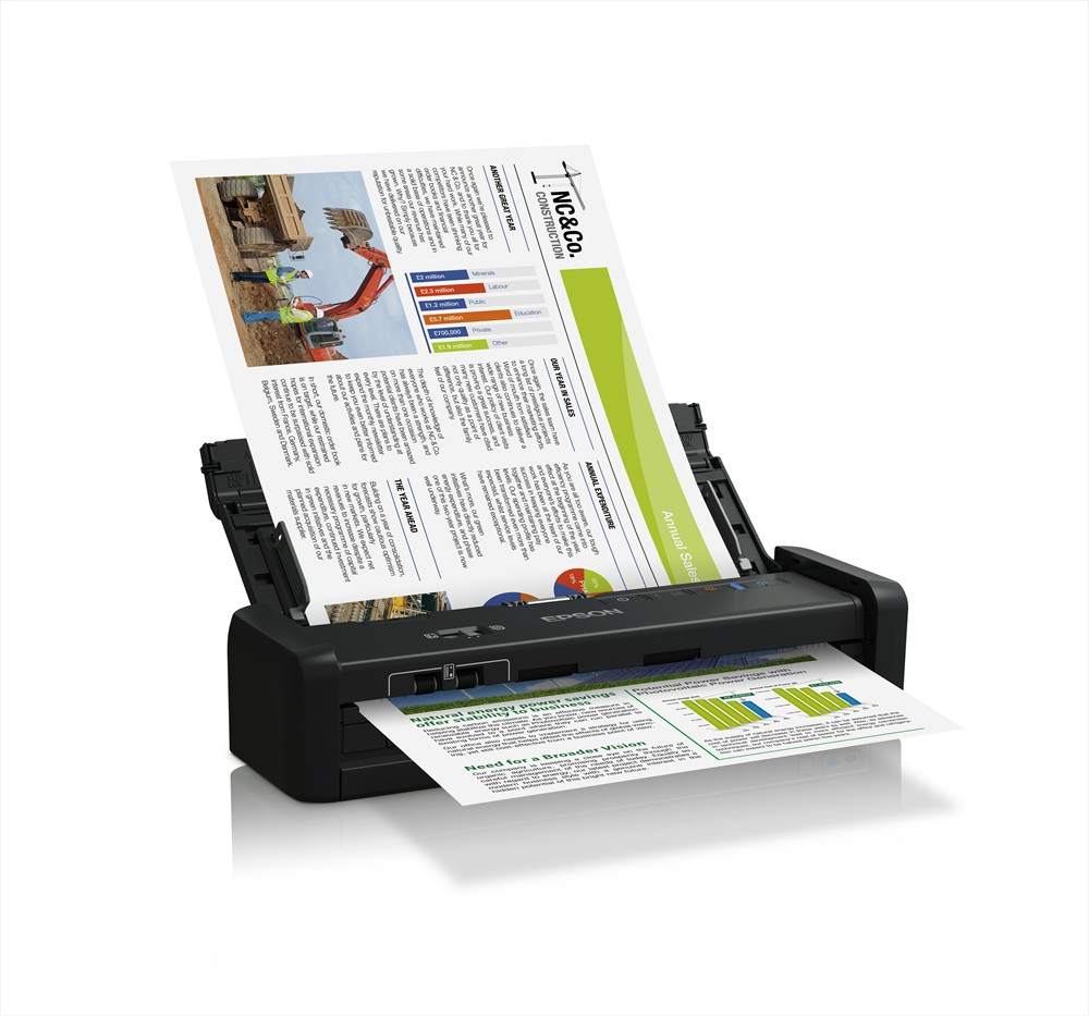 Epson WorkForce DS-360W Mobile Scanner Image 3