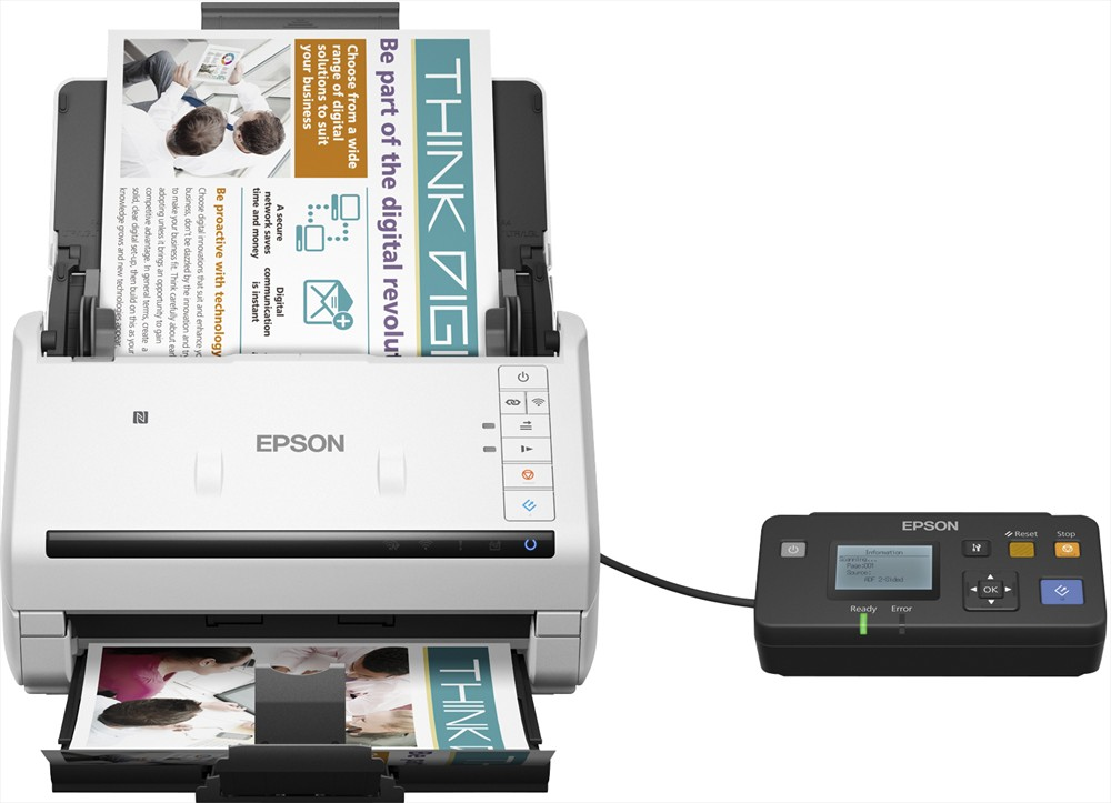 Epson WorkForce DS-570W WiFi Scanner