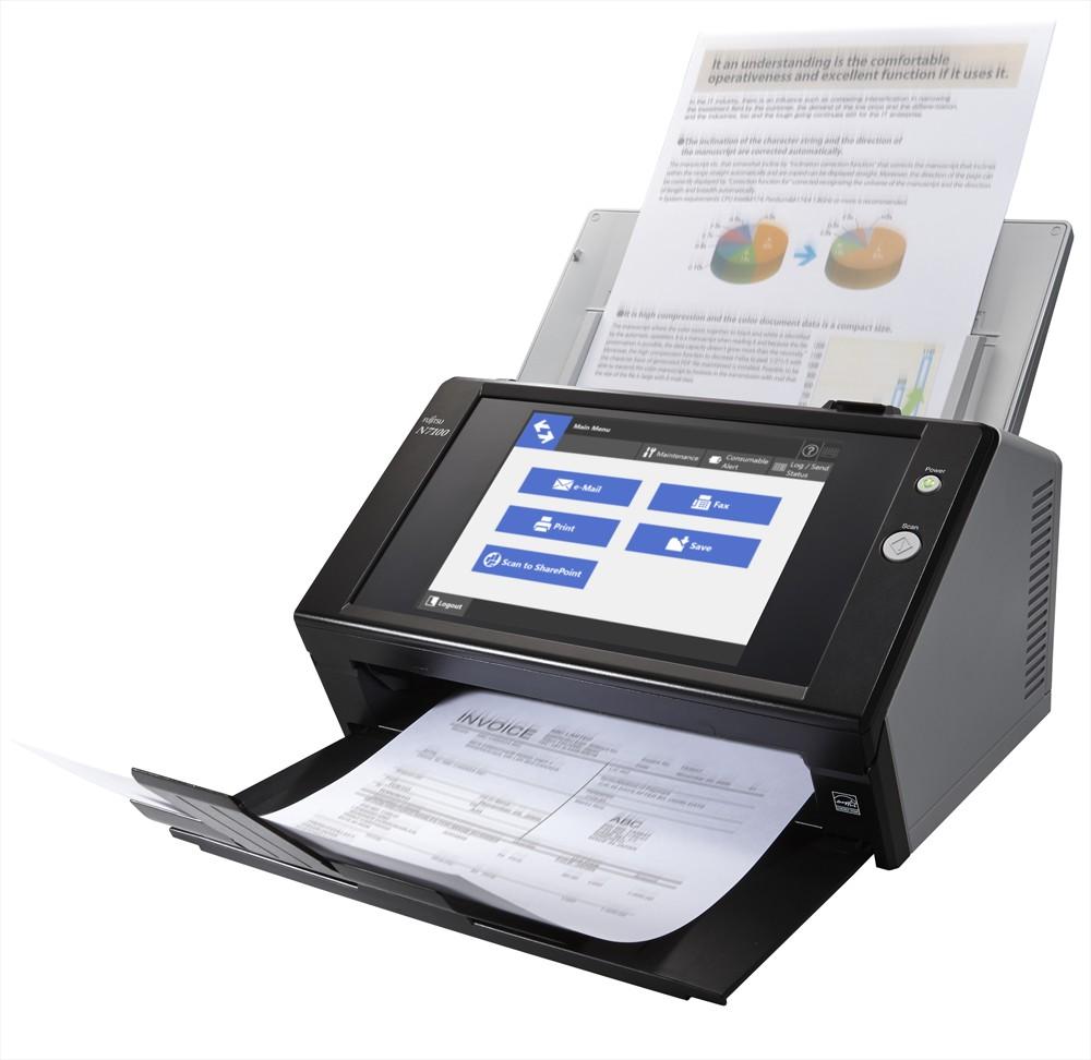 Fujitsu N7100 Scanner Image 1