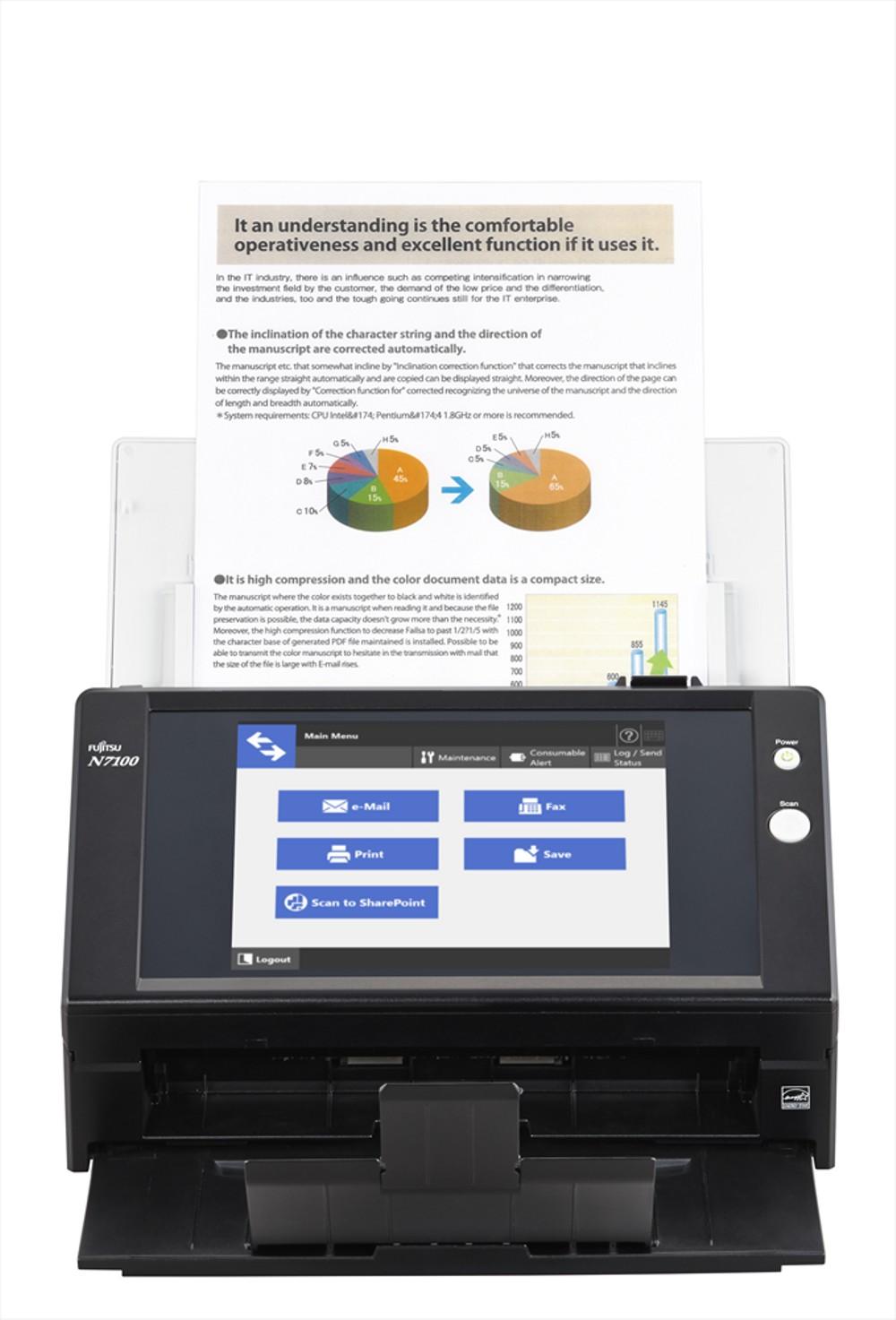 Fujitsu N7100 Scanner Image 2