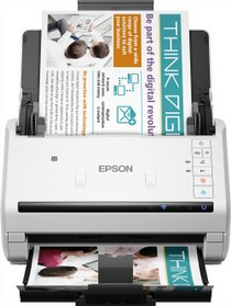 Epson Workforce DS-570W scanner Front View